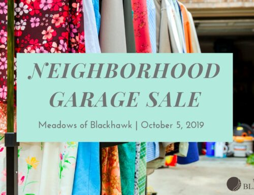 Neighborhood Garage Sale – Oct 5