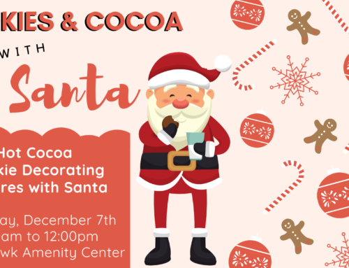 Cookies & Cocoa with Santa – Neighborhood Holiday Event Dec. 7